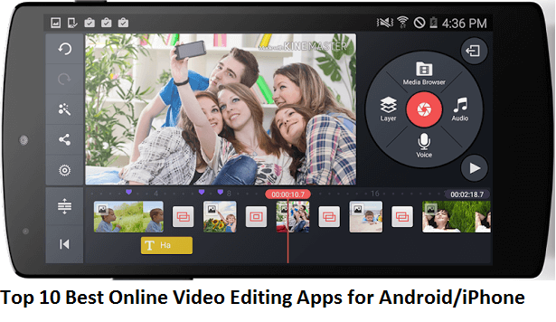 Online Video Editing Apps