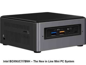 Intel BOXNUC7I7BNH The New in Line Mini PC System