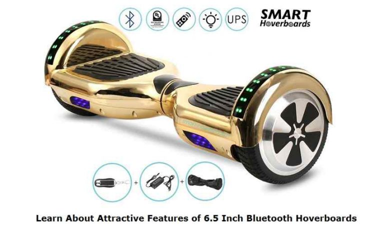 Learn About Attractive Features of 6.5 Inch Bluetooth Hoverboards