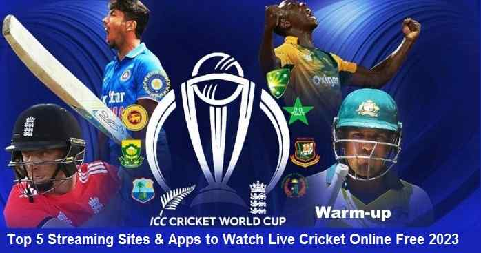 Top 5 Websites Apps To Watch Live Cricket Online Streaming