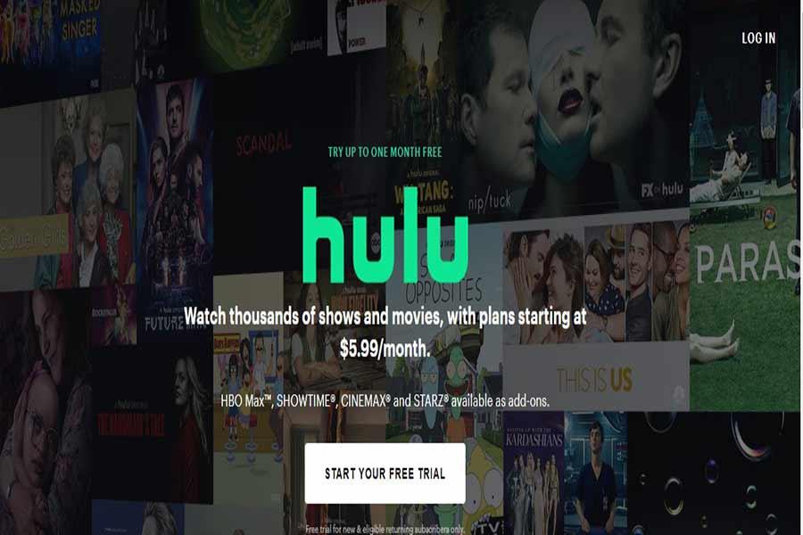 Hulu site