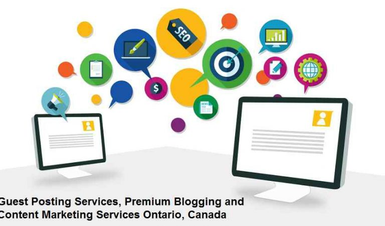 Guest Posting Services Canada, Content Marketing, Blogging Services Ontario