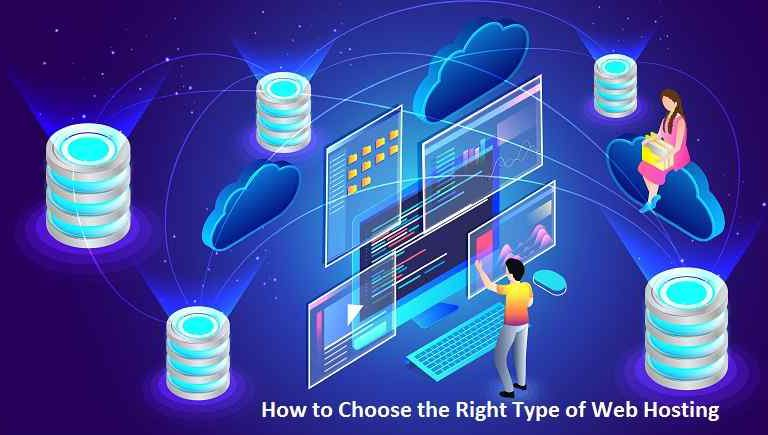 How to Choose the Right Type of Web Hosting