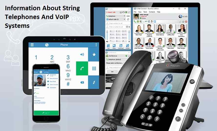 Information About String Telephones And VoIP Systems