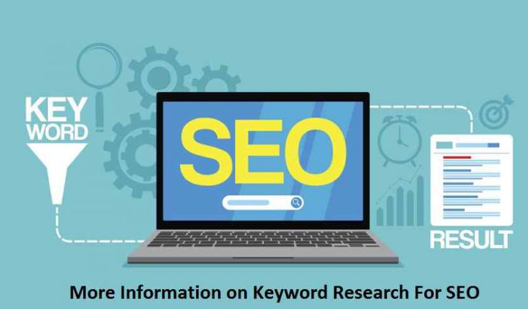 More Information on Keyword Research For SEO