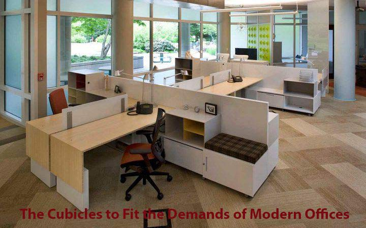 Reinventing the Cubicles to Fit the Demands of Modern Offices