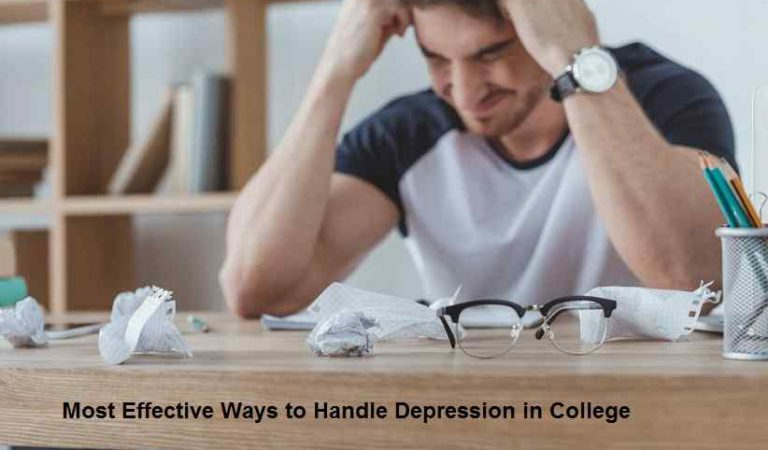 Most Effective Ways to Handle Depression in College