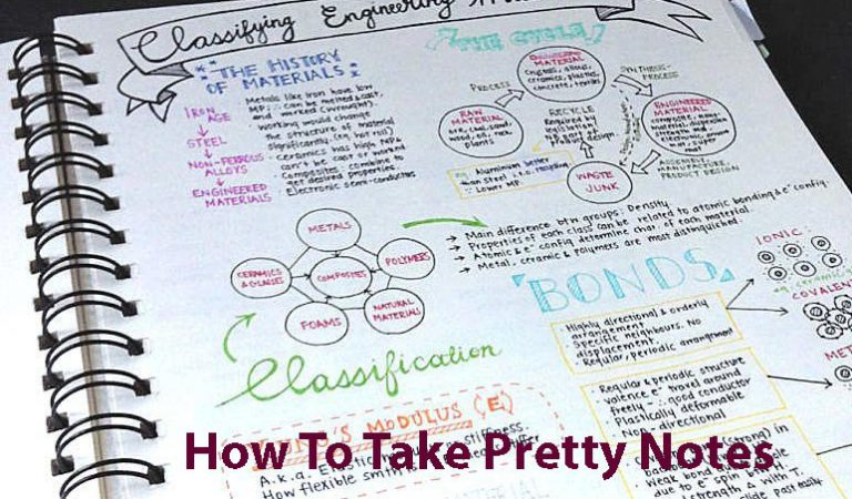 How to Take Pretty Notes | All Kinds of Study Material on Online Shop