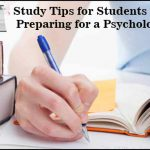 Study Tips for Students a Psychology Exam
