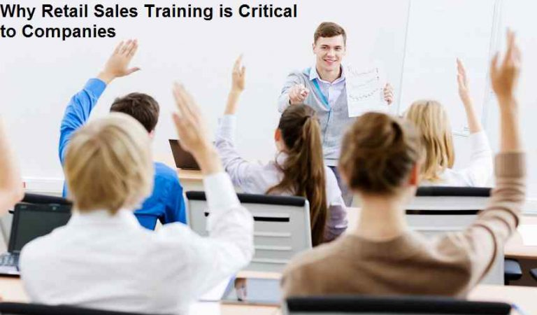Why Retail Sales Training is Critical to Companies