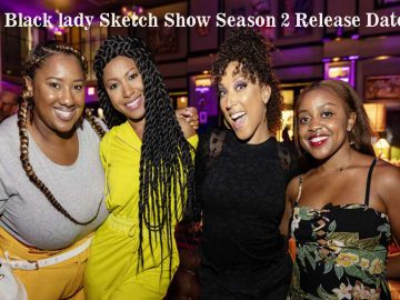 A Black lady sketch show season two release date