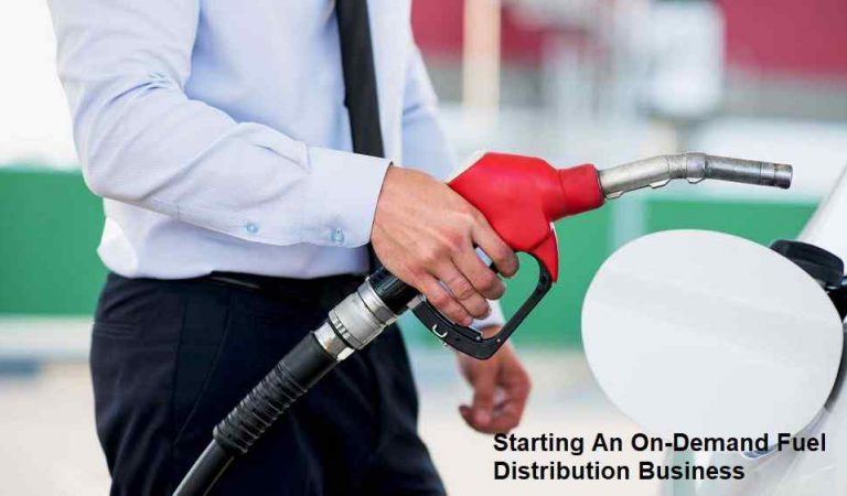 Starting An On-Demand Fuel Distribution Business