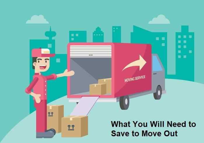 What You Will Need to Save to Move Out
