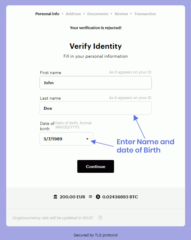 Verify Your Account
