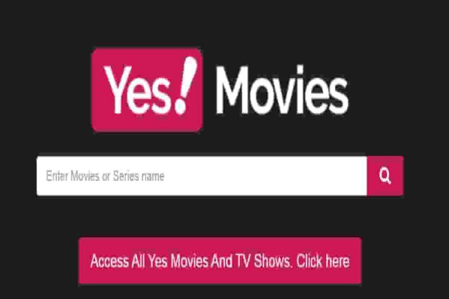 YesMovies Website
