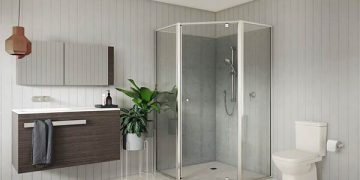 Framed Glass Shower Screen