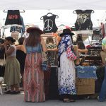 Vendor in Flea Markets