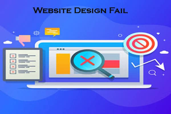 Why Do Most Website Design Fail?