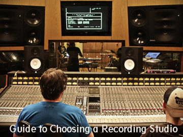 Guide to Choosing a Recording Studio