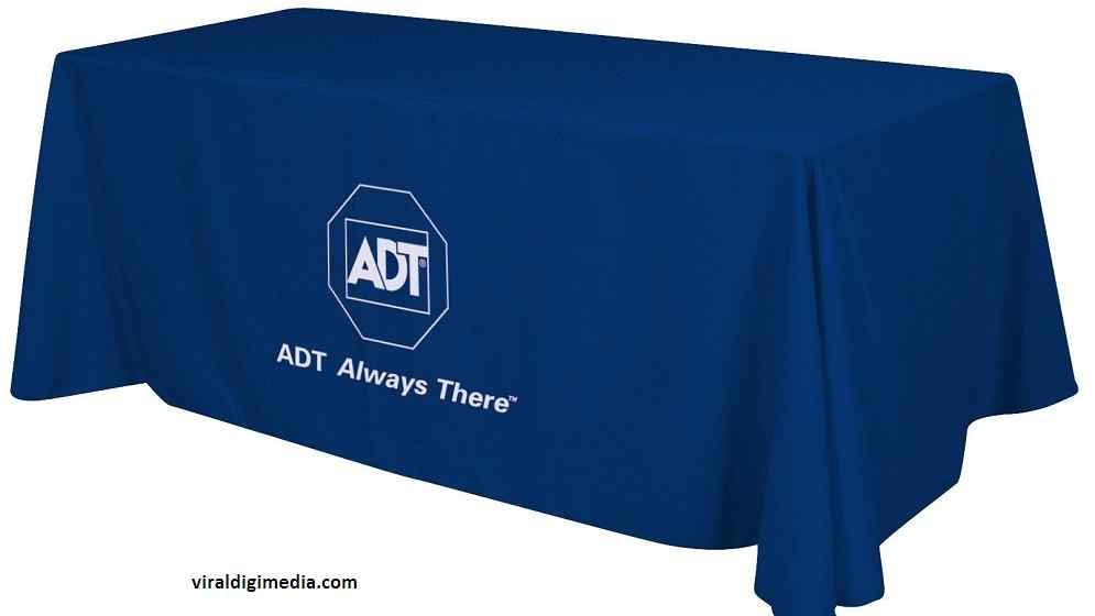 Custom Branded Tablecloth to Promote Your Business