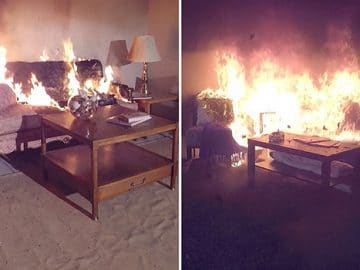 Living Space Safe from Fire